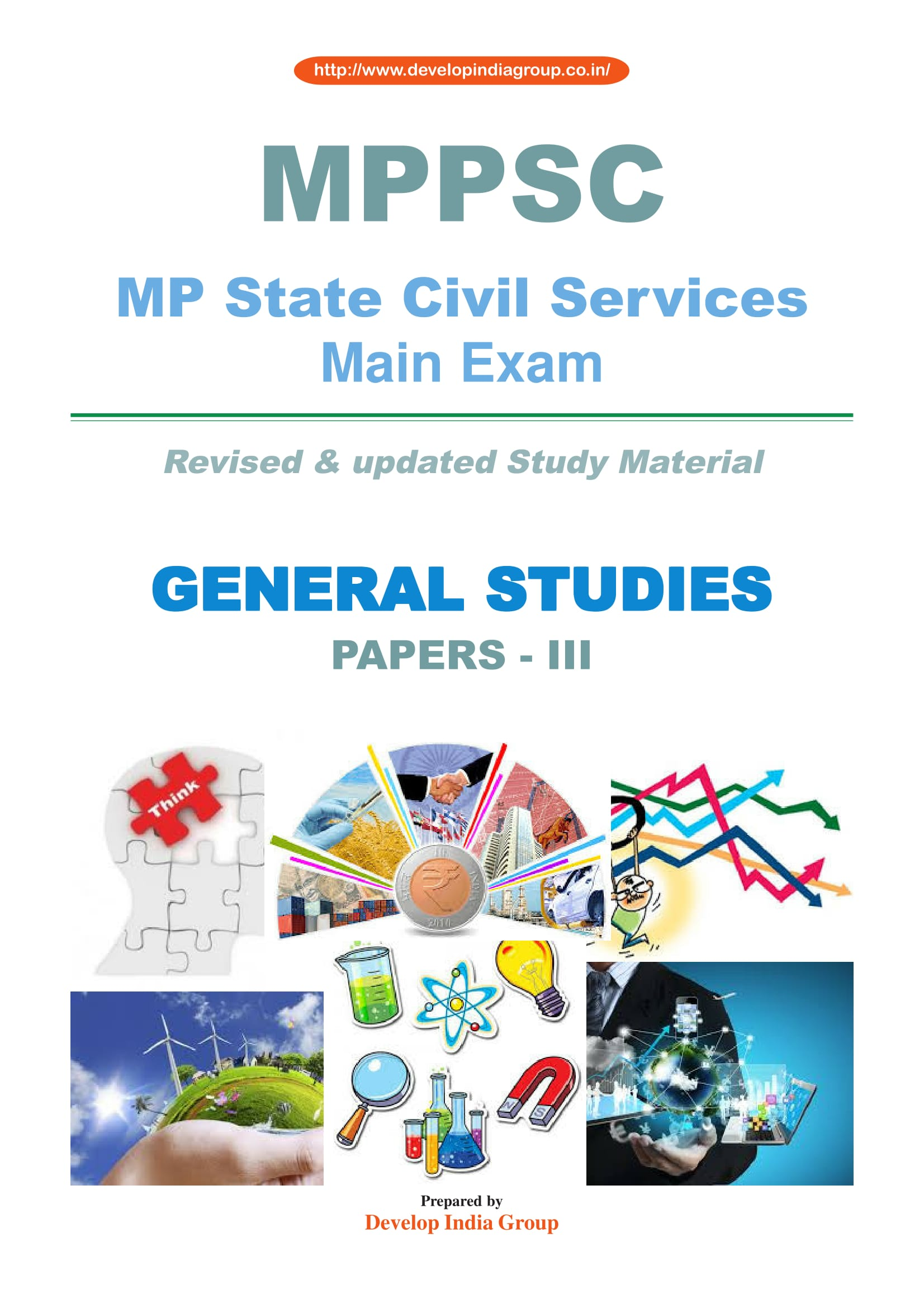 MPPSC Main (revised) Paper III General Studies (English)