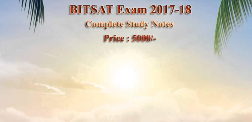 Bitsat 2018 slot booking